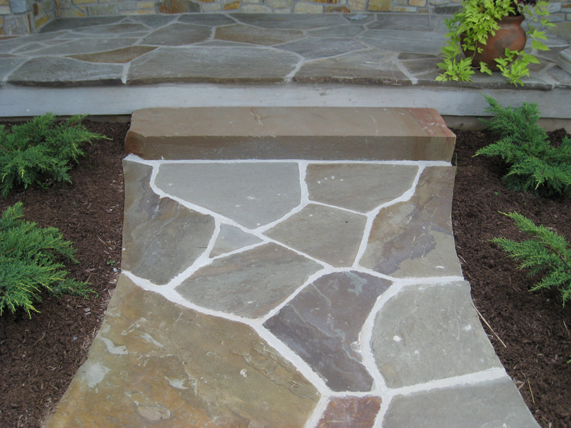 Pa Bluestone Irregular Flagstone Delaware Quarries Inc